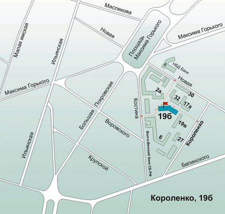 Пункт выдачи заказов в г. Нижний Новгород, ул. Короленко, д.19 б