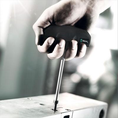 (WE-013402) Отвертка-гаечный ключ, с поперечной ручкой 495, 7x230 мм, 013402, WERA WE-013402