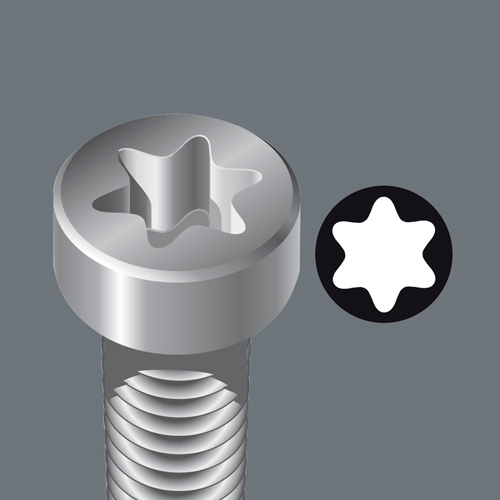 (WE-028038) Отвертка 367 TORX PLUS® , 30 IP / 115 мм, 028038, WERA WE-028038