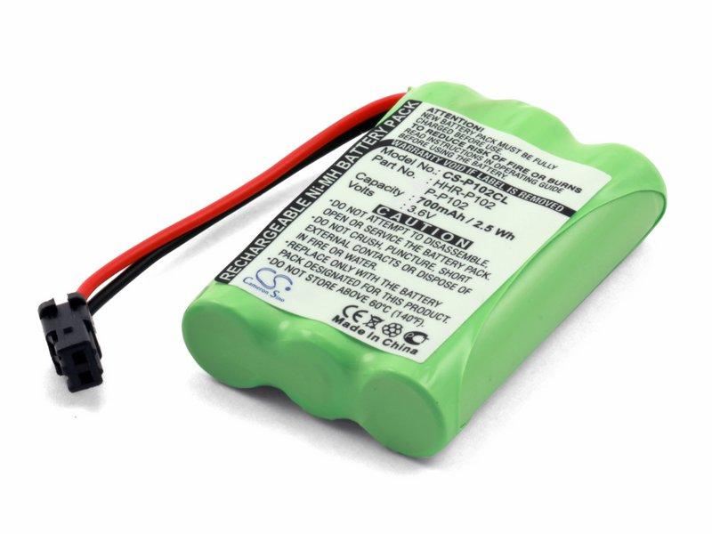 Аккумуляторная батарея для радиотелефона Panasonic HHR-P102, P-P102 BAT04090021M