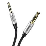 Аудио кабель Baseus Yiven Audio Cable M30 1.0M Black ORIGINAL