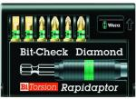 Набор 8700-6/BDC Bit-Check – Rapidaptor 056370, WERA WE-056370 (WE-056370)