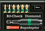 Набор 8755-6/BDC Bit-Check – Rapidaptor 056371, WERA WE-056371 (WE-056371)